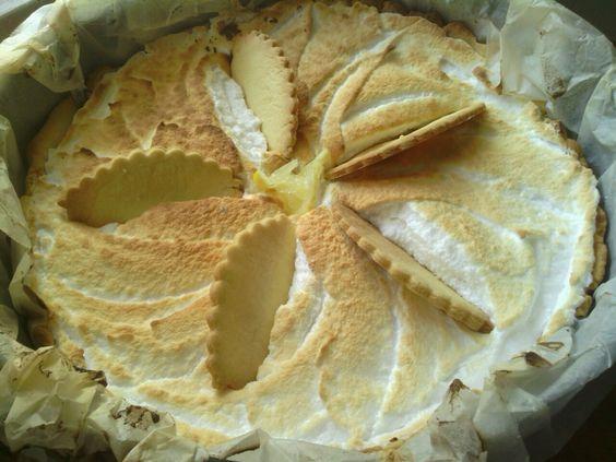 Tarte au citron meringué , SABRICHI AND HEARTY