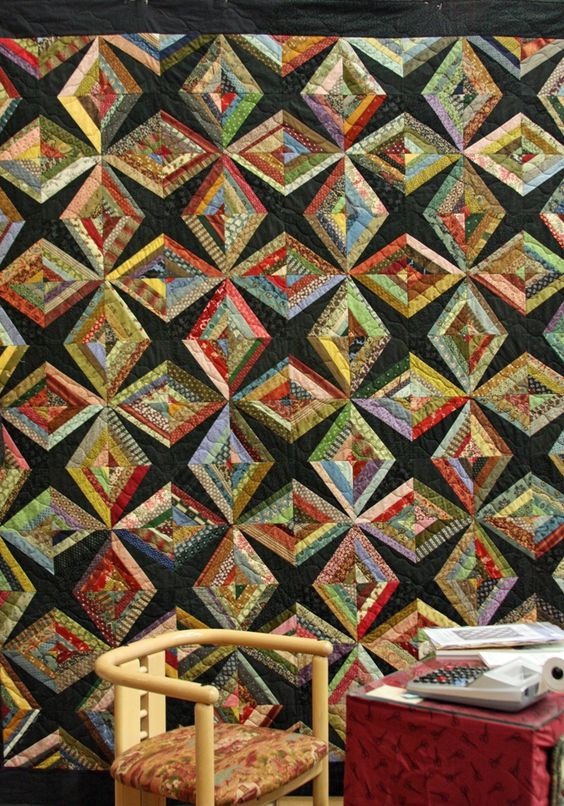 Cool String Quilt: