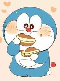 Cute Shinchan And Doraemon Photo
