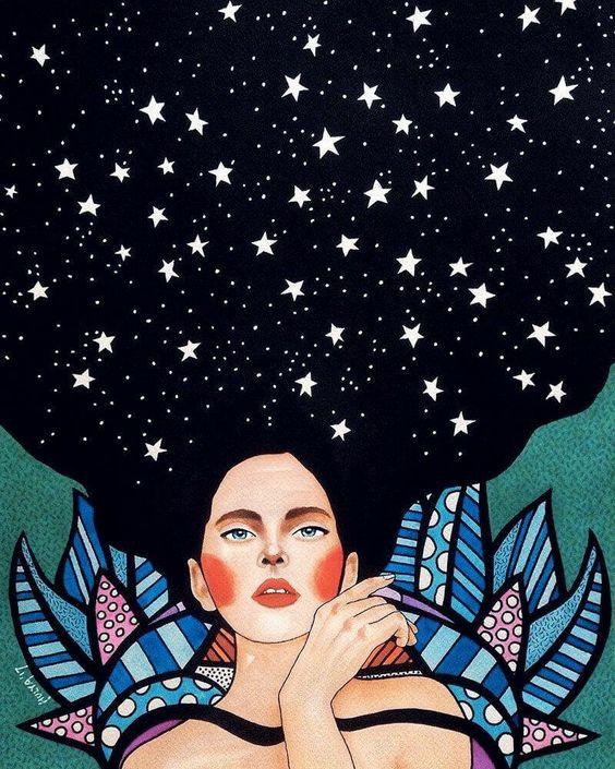 Cabello de estrellas