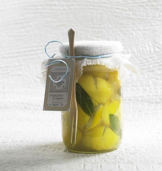Unser beliebtes Rezept für Eingelegte Zitronen und mehr als 55.000 weitere kostenlose Rezepte auf LECKER.de.