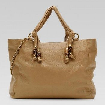 Gucci 232942 Bgd0t 2309 Jungle'Large Tote Mit Bambus-Detail Und Metall B Gucci Damen Handtaschen