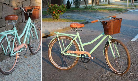 Bicileta Vintage e Retrô da Olé Bike do RJ (Modelo QGuai)