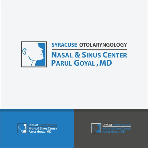 Syracuse Otolaryngology Nasal Sinus Center Parul Goyal Md Expanding Medical Practice Needs A Medical Logos Inspiration Logo Redesign Medical Logo Design
