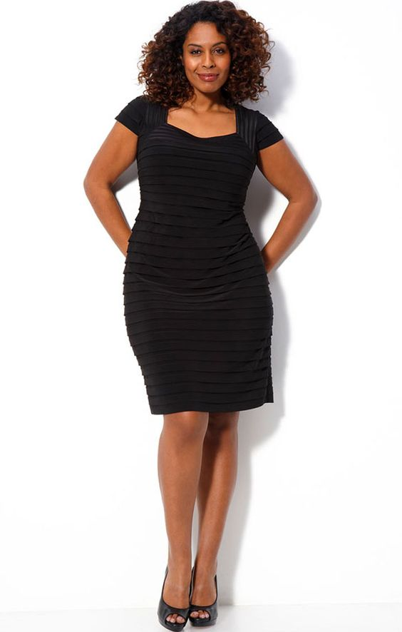 plus size black dresses 30 - plussize curvy fashion  Plus Size ...