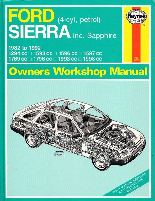 Isbn 9781850108085 Isbn 1850108080 Ford Sierra Owners Workshop