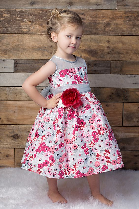 Magpie and Mabel Maeve Frost Dress in Red PREORDER $132.00