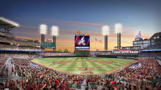 Atlanta Braves to open new SunTrust Park against New York Yankees