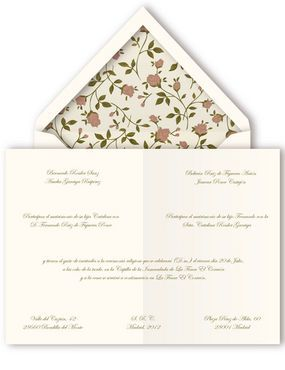 Querida Valentina: Invitaciones hecas a mano: