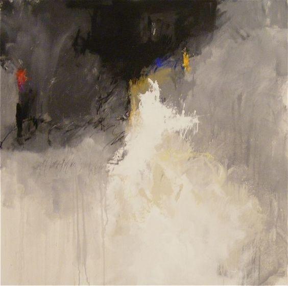 """Something Cool"", 40 x 40"", Charles Ross"