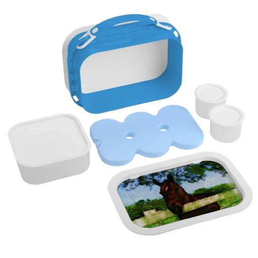 #Horse Hi #Lunchbox $41.95  Includes large (sandwich) container, two small containers, and ice pack.  100% dishwasher safe (excluding faceplates).