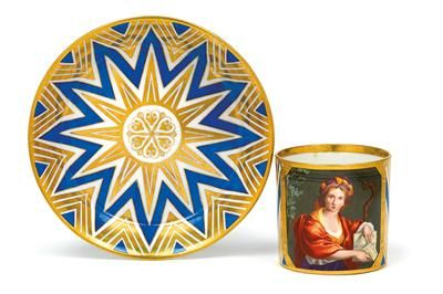 Jakob Schuhfried cup and saucer,
