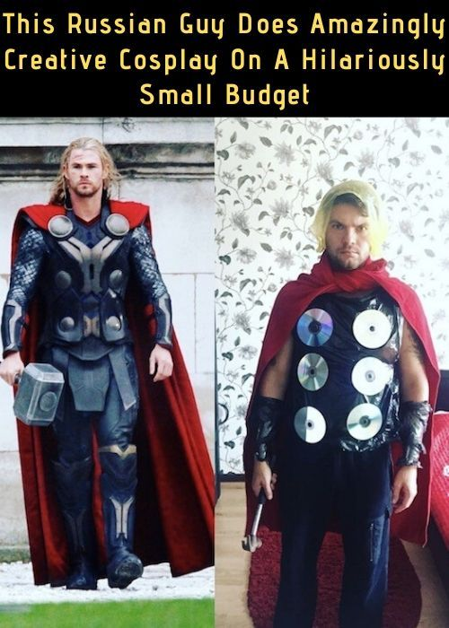 Halloween 2020 Russian This Russian Guy Does Amazingly Creative Cosplay On A Hilariously