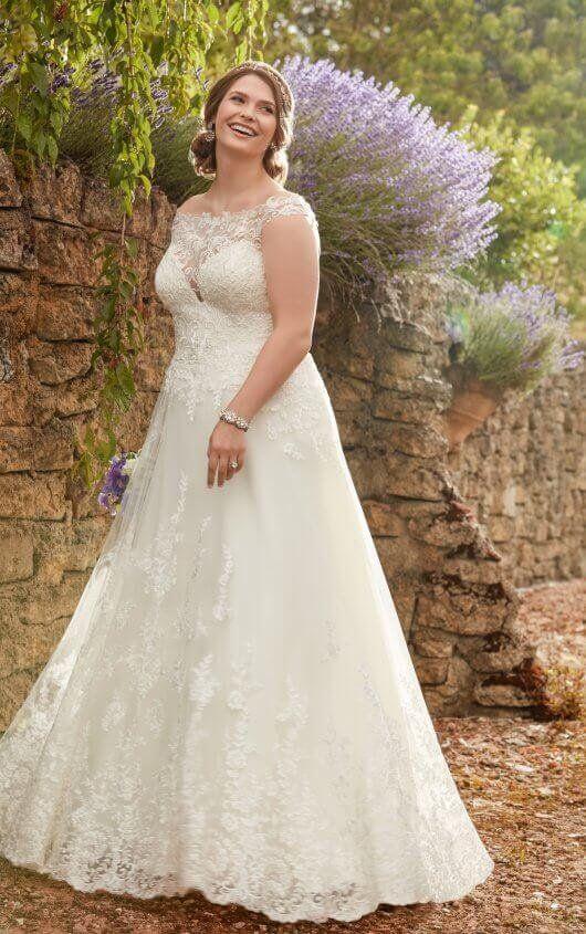 239 best Plus Size Wedding Dresses images on Pinterest   Short ...