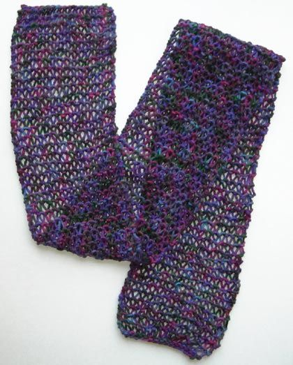 Easy Knitting Stitches Scarves : Condos, Stitches and Knitting patterns on Pinterest