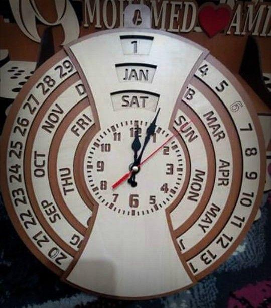 ساعات الحائط ليست فقط لإخبار الوقت ولكنها سرعان ما أصبحت عنصرا زخرفيا قيما الساعة النتيجة ساعة و نتيجة فى نفس الوقت Diy And Crafts Cooking Timer 10 Things