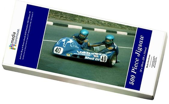 Print Of Axel Von Berg Werner Kraak Lcr Yamaha 1982 Sidecar Tt In 2020 Jigsaw Puzzles 500 Piece Jigsaw Puzzles Photo Puzzle