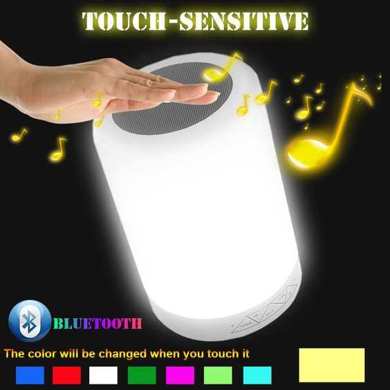Luxury Wireless Bluetooth Speaker 7 Color LED Flash Light Mini Portable Stereo Hands Speakers for Sumsung Iphone Smartphone