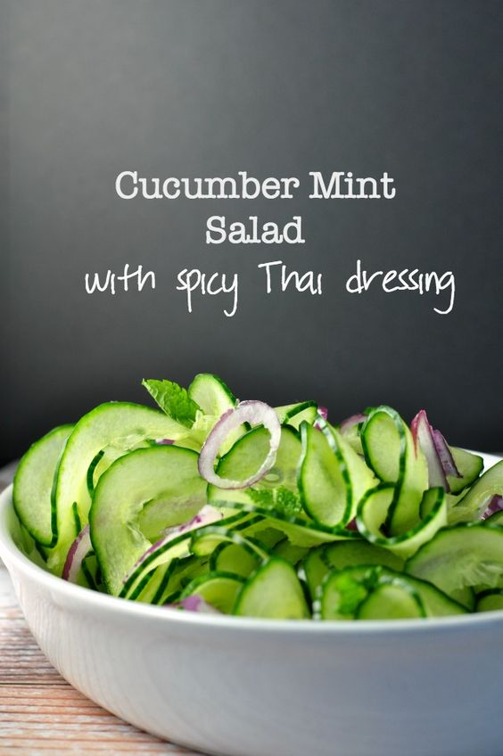 ... and easy recipe for a cool and crispy side salad with an Asian flair
