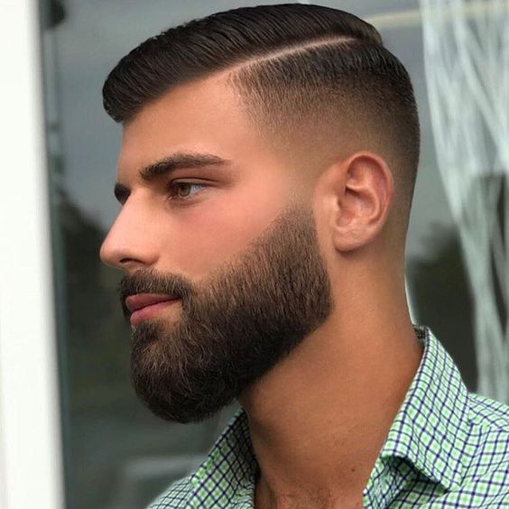 Comb Over Haircut 2020 Mens Hairstyles Short Hair And Beard Styles Beard Styles Short