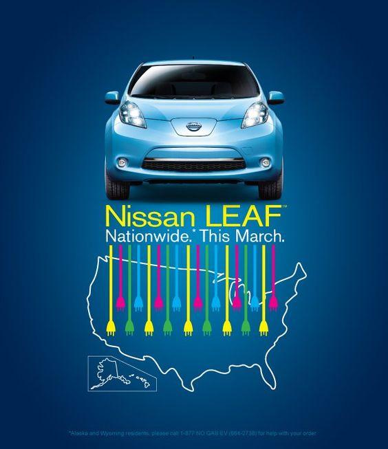 Nissan Leaf March 2012