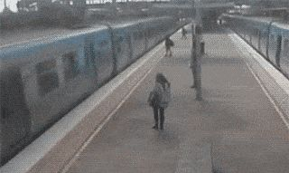 Oh Sh*t! It's the ticket-taker