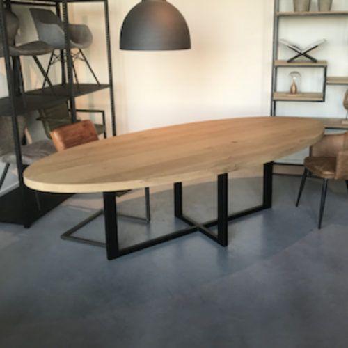 Grande table en pin Stainless   Sur mesure   FOR ME LAB