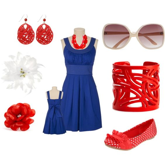 """4th of July picnic"" by kaybraden on Polyvore"