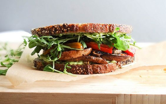 <p>This smoky Portobello bacon sandwich is simple, but it's anything but boring. </p>