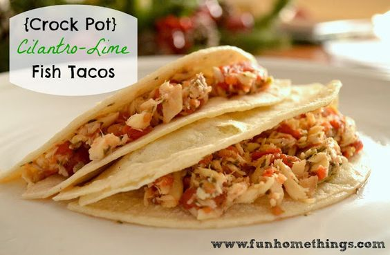Crock Pot recipes are great around the holidays, especially if you have a lot of company coming over. I love making this fish taco recipe–it's not what you might expect at a holiday gathering but it tastes great and always goes over well. Cooking fish in a slow cooker is so easy. The tilapia fillets …