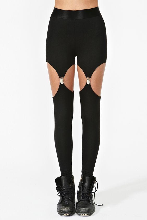 Garter Leggings. Could be fun!