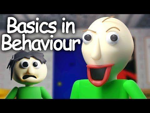 Sfm Basics In Behavior Blue Baldi S Basics Song Youtube Songs