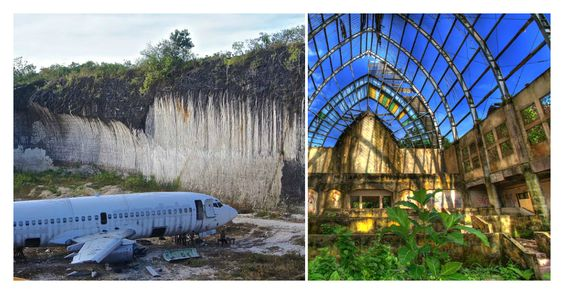 Here's a list of beautiful long abandoned places in Bali - resorts and parks more than just crumbling ruins that you can explore.