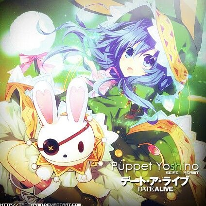 Yoshino render - Date a live