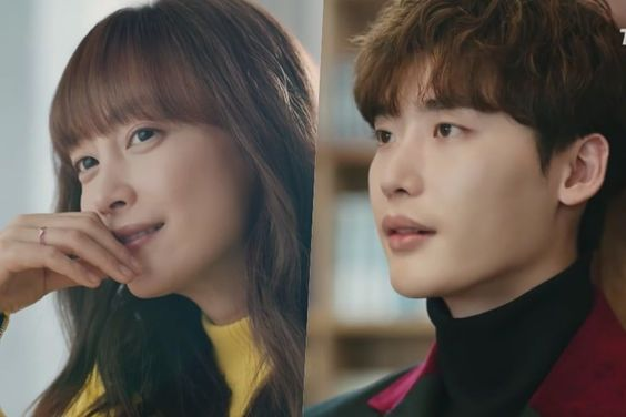 Watch: Lee Na Young And Lee Jong Suk Convey Their Emotions Through Books In New Drama Teaser