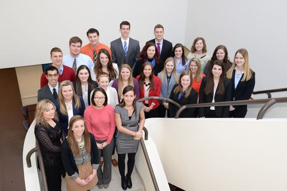 Group of founding students for BUWell. Butler University's multimedia, open-access, healthcare journal.
