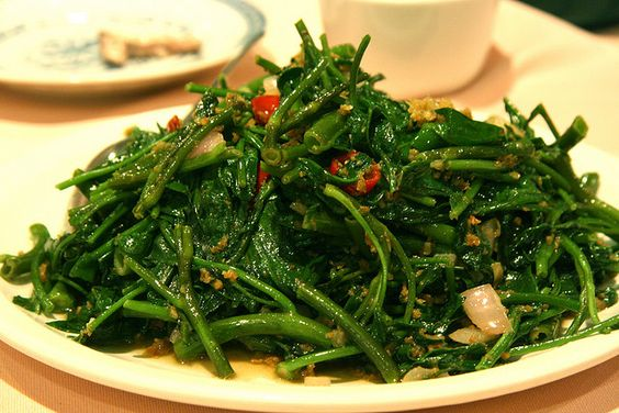 Kangkong - my favourite vegetable.