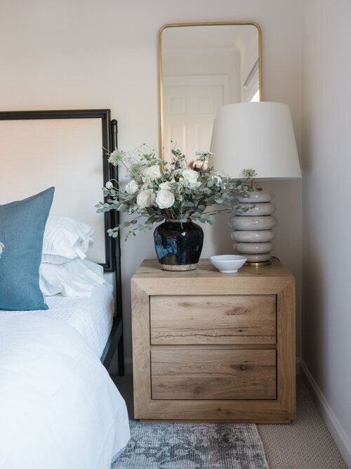 How To Style Nightstands Home Decor Minimalist Home Interior Home