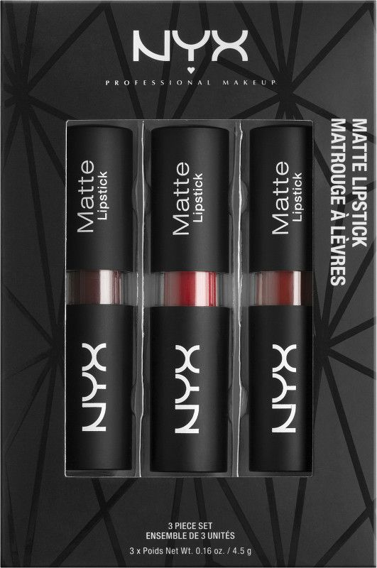 NYX Holiday 2016 | NYX Matte Lipstick Set $11.99 (Available In Three Different Shade Sets)