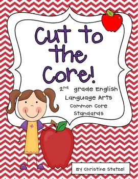 This freebie is a set of the 2nd grade Common Core language arts standards. Print this out and keep it in your teacher binder or on a clipboard so you can refer to it throughout the year!
