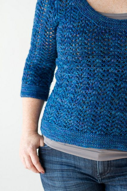 February Fitted Pullover by amyherzogdesigns, via Flickr