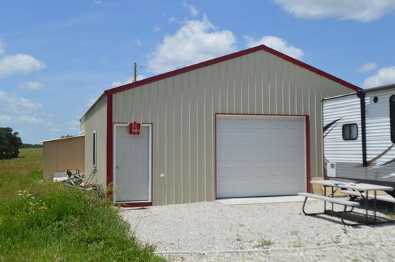 Large shop located on 15 acres on hh highway shop is for Rv garage doors for sale