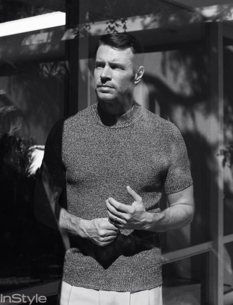 Scott Foley makes us swoon inside the May issue of InStyle.