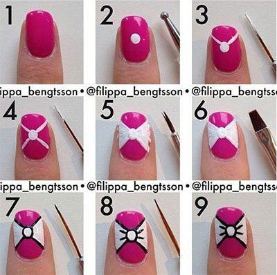 cool nail art step by step -...