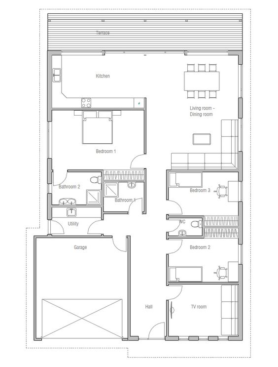 Vaulted ceiling house plans house design plans for Vaulted ceiling house plans