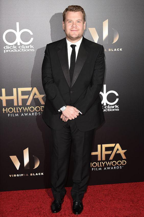 Nov. 7, 2016 - James Corden - The Best Looks From 20th Annual Hollywood Film Awards  - HarpersBAZAAR.com