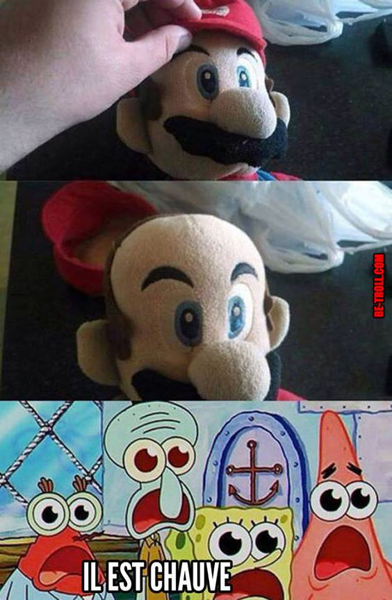 Le secret de Mario révélé ! - Be-troll - vidéos humour, actualité insolite