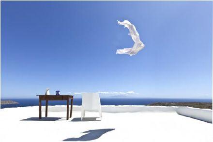La dimora estiva della designer Marilena Rizou