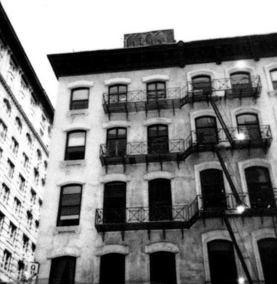 New York City Black and White Polaroid Photograph