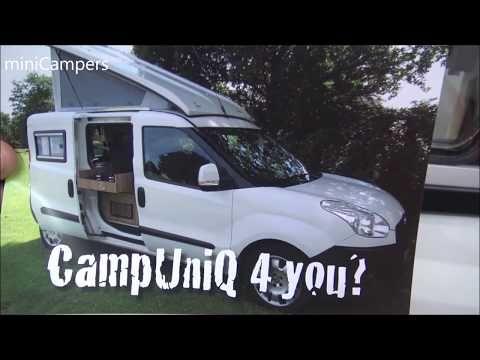 Fiat Doblo Campuniq Mini Camper 2018 Youtube Fiat Doblo